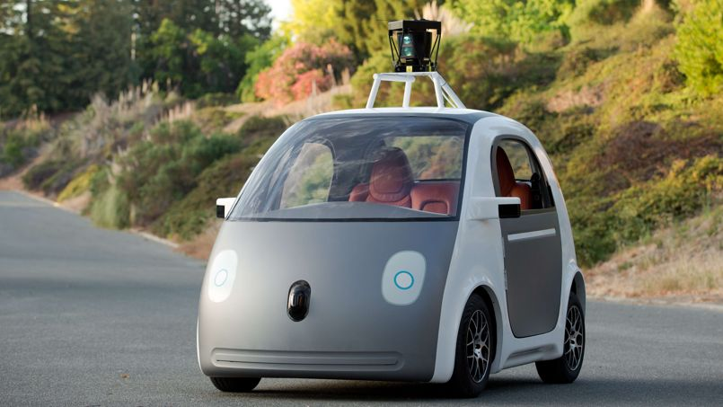 صورة Google dévoile son prototype de voiture électrique sans conducteur