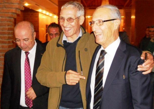 وزير التعليم العالي لحسن لداودي، وصالح الحمزاوي رئيس الجهة ووالي الجهة محمد فنيد