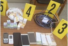 صورة الشرطة القضائية بالفقيه بن صالح تطيح بشبكة إجرامية خطيرة