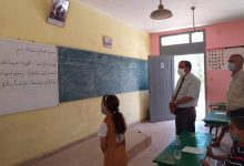 صورة حمادي أطويف يتابع الدخول المدرسي بالفقيه بن صالح، ويحرص على تفعيل التدابير الاحترازية تفاديا لانتشار العدوى