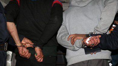 صورة إيقاف شخصين بتادلة ينشطان في السرقات بالكسر