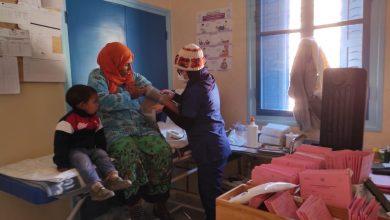 صورة فحوصات طبية لما مجموعه  416 فردا  للتخفيف من آثار مواجهة البرد القارس