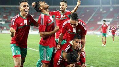 صورة المنتخب المغربي لللاعبين المحليين يكسب المباراة الأولى ضد نظيره الطوغولي
