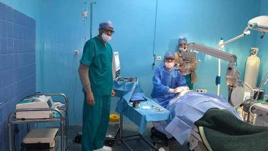 صورة تنظيم حملة طبية لجراحة المياه البيضاء أو الجلالة (المرحلة السابعة)بأزيلال