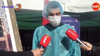 صورة رجال الأمن ببني ملال ينخرطون  بجدية في المحطة الأولى من التطعيم ضد فيروس كورونا..