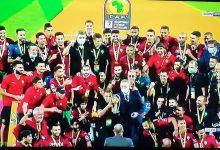 صورة المنتخب المغربي للمحليين يحافظ على لقب بطوة الشان