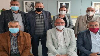 صورة أحمد بدرة باق في حزب الحركة الشعبية بعد تقديم استقالته من كتابة الفرع المحلي