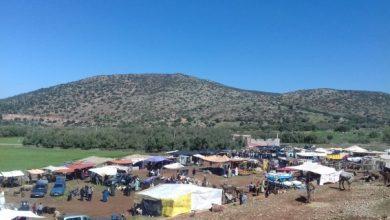 صورة أزيد من 500 أسرة بسفوح وقمم جبلي تاصميت وواغنين معزولة عن التواصل بالعالم الخارجي
