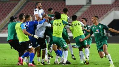 صورة الرجاء الرياضي يحرز لقب البطولة العربية للأبطال بتفوقه على اتحاد جدة