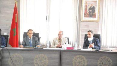 صورة المجلس الإقليمي لأزيلال يصادق بالإجماع في أولى دوراته على مشروع النظام الداخلي