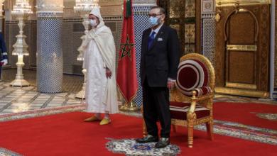 صورة فاس..الملك محمد السادس يستقبل أخنوش وأعضاء حكومته